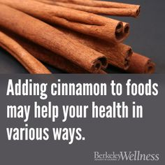 Cinnamon spices up your food, but it could also aid your body. Here's what the research suggests. http://www.berkeleywellness.com/self-care/preventive-care/article/sorting-out-cinnamon-claims?ap=2012