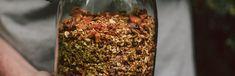 Gesunder, veganer Snack für's Spiel: Würziges Sommergranola