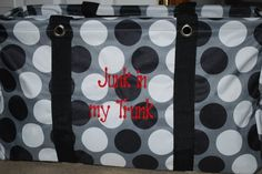 Large Utility Tote Uses - Parties by Rosemary