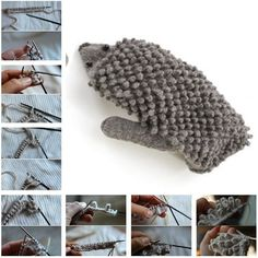 How to Knit Hedgehog Mittens – DIY