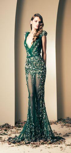 Fall-Winter Haute Couture Collection 2013-2014(15) ZIAD NAKAD_解思思 - 美丽鸟