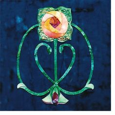 Mary Kay Perry - Pinwheel Rose
