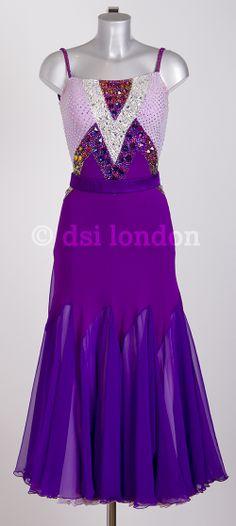 Susanna Reid purple lilac ballroom dress