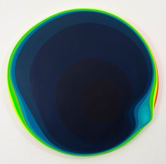 <p>Jan Kalab is a Czechoslovakian artist whose work has transitioned into organic abstraction. His pieces have taken on a biological, vibrant form like no other. Working in installation, painting, and