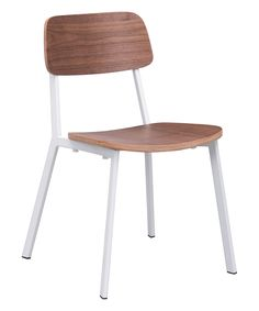 Look at this #zulilyfind! Zuo Cappuccino Dining Chair - Set of Two by Zuo #zulilyfinds