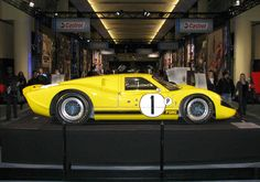 Ford GT40 Mk IV at 2010 show. Road Racing, Auto Racing, Gt 500, Classic Race Cars, Ford Gt40, Mc Laren, Mustang, Exotic, Capri