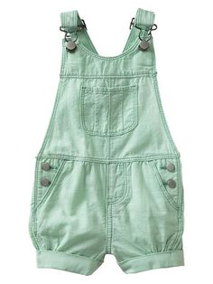 Chambray shortalls Product Image