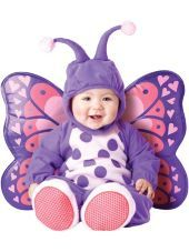 Baby Itty Bitty Butterfly Costume Party City Halloween Baby
