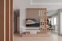 Living Room Partition Design, Living Room Tv Unit Designs, Room Partition Designs, Wall Partition, Apartment Interior, Room Interior, Interior Design Living Room, Modern Living Room Design, Home Living Room