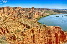 Las Barrancas de Burujón, también llamadas de Castrejón, son paraje natural formado por la erosión del Tajo en la provincia de Toledo.