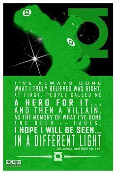 From G3N3S1S studios. Hal Jordan