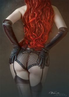 Have to admit that I've got a thing for redheads, LOL.