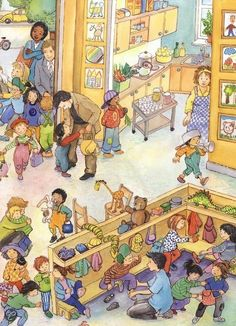 (2015-08) Hvad gør de i børnehaven?