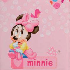 Baby blanket Disney Minnie Mouse from Manterol - order now