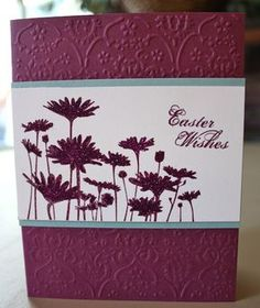Upsy Daisy Easter by scrapaholic007 - Cards and Paper Crafts at Splitcoaststampers