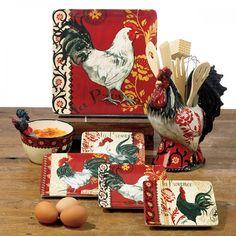 La Provence Rooster Serve Ware