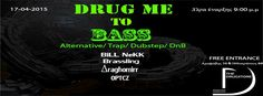DRUG ME TO BASS // BILL NEKK/ΔRAGHOMIRR / OPTCZ/BRASSLING // Fri. 17/4 // @DRUGSTORE