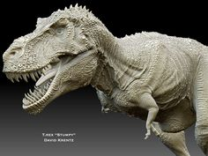 "T.Rex ""Stumpy"" by David Krentz closer look"
