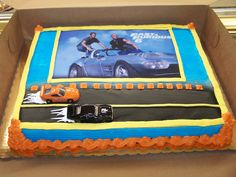 fast and the furious cake
