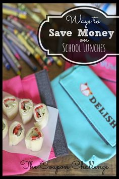 Packing lunch is a great way to save money and keep our budget in check.  Read on for ways to save money on school lunches.
