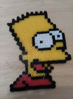 Bart Simpson, de la calidad de los tubitos depende el resultado al plancharlos, estos no eran muy buenos