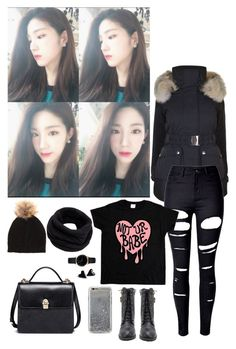 """""""-just going for a walk-"""" by daddyslittlestprincess ❤ liked on Polyvore featuring K100 Karrimor, WithChic, Helmut Lang, Agent 18 and Freedom To Exist"""