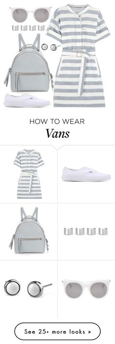 """It's a Shirt! It's a Dress! It's a Shirtdress!"" by joslynaurora on Polyvore featuring Burberry, Vans, Fendi, Maison Margiela, Alexander McQueen, dress, shirtdress and sneakers"