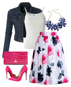 Shop this look. Design yours. Vivienne Westwood, Christian Louboutin, Kate Spade, Shoe Bag, Polyvore, Pink, How To Wear, Stuff To Buy, Queen