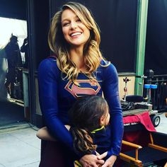 In anticipation of Monday's all new #supergirl sharing my absolute favorite thing about this show: The love of a kid for their role model. This hug didn't stop for twenty minutes. #supgirl @melissabenoist @supergirlcbs #supergirlxtheflash ❤️❤️❤️❤️❤️❤️❤️❤️❤️❤️❤️❤️❤️❤️