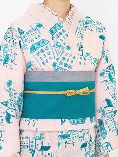 メゾンストリート 浴衣・桃 | DOUBLE MAISON