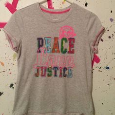 {free} Free with purchase! {30 days until donating} Justice Tops Tees - Short Sleeve