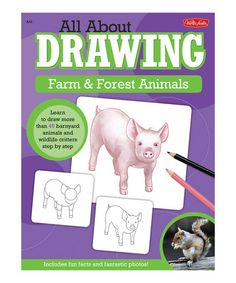 This All About Drawing Farm & Forest Animals Paperback by Walter Foster is perfect! #zulilyfinds