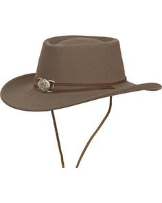 Silverado Men's Dusty Crushable Wool Western Cowboy Hat Mushroom Large  -- Continue to the product at the image link.