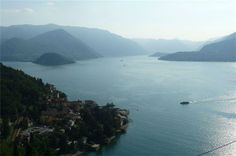 One of the deepest lakes in Europe. And one of the most beautiful. Como Lake, Lombardy, Italy.