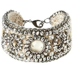 Silbernes Armband mit Perlen ab 16,95 € ♥  Hier kaufen: http://www.stylefruits.de/armband-mit-perlen-promod/p5194543 #promod #Perlen #Strass #Schmuck