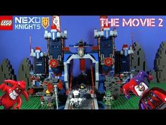 The Nexo Knights movie re-edit Knighton Battle Blaster Chaos Catapult Lance's Mecha Horse Moltor's Lava Smasher Beast Mast. Lego Knights, Catapult, Beast, Battle, Movies, Kids, Youtube, Room, Young Children