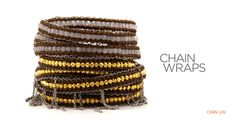 Chan Luu... Great ideas for my jewelry making