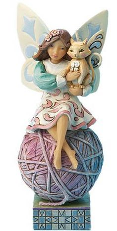 Jim Shore Feline Fairy Figurine