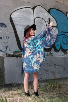 Fringe Cape from NZ Women's Clothing Boutique Lonely Bones http://www.lonelybones.boutique/product/poison-ivy-cape/