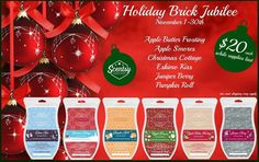 Scentsy BRICKS are back for a limited time or while supplies last!!! Find yours at: http://ashleypaige.scentsy.us/