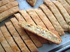 Orange Almond Biscotti-had this in Italy and wanna try to remake it the way they did-nice and chewy.