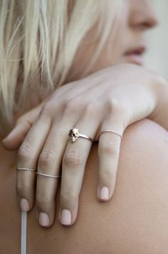 Baby anything rings. Dainty & gorgeous