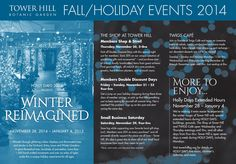ISSUU - Fall Events 2014 at Tower Hill by Tower Hill Botanic Garden