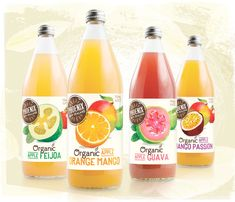 Curious Design, New Zealand addressed the entire range of products for Phoenix, a organic beverage company. The range includes juices, spiraling juices and carbonated drinks.