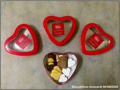 Idee regalo per San Valentino ❤❤❤   Gift ideas for Valentine's Day ❤❤❤  scatole di biscotti biscuit boxes heart cuore amore love Biscottificio Innocenti