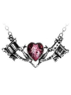 """Painted Lady"" Necklace by Alchemy of England #inked #inkedshop #inkedmagazine #jewelry #necklace"