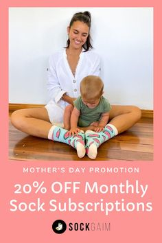 The Perfect Mother's Day Gift! 20% OFF Monthly Sock Subscriptions #sockgaim #mothersday #socksofinstagram #australianartist #socksoftheday #perfectgift #sockswag #happysocks #watermelon #mothersdaygift #motherhood