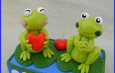 Rana Pasta, Cute Frogs, Frog And Toad, Pasta Flexible, Submissive, Biscuits, Cold, Weights, Cold Porcelain Ornaments