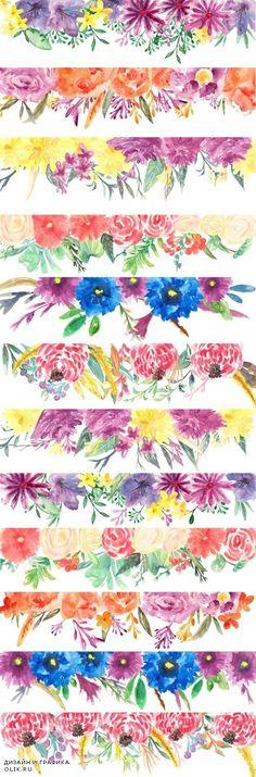 Back Drop Flowers