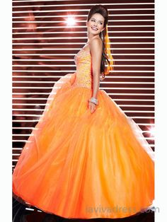 Ball Gown Prom Dresses Evening Dresses  GY238 Orange Prom Dresses 0d8765cd0075